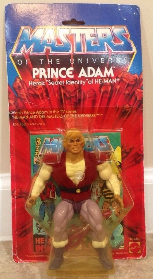 Prince Adam | 18 Pricey And Rare He-Man And The Masters Of The Universe Toys