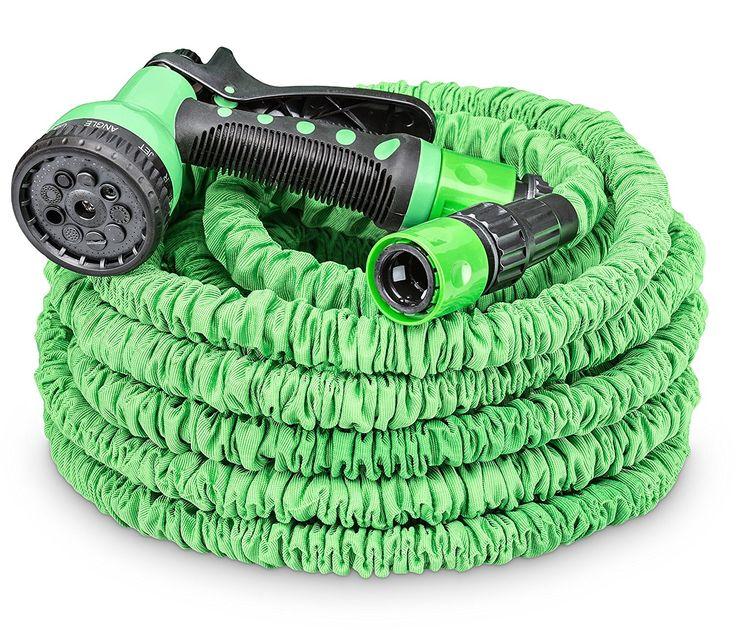 Cool Gartenbew sserung tillvex Flexischlauch flexibler Gartenschlauch TOP Modell