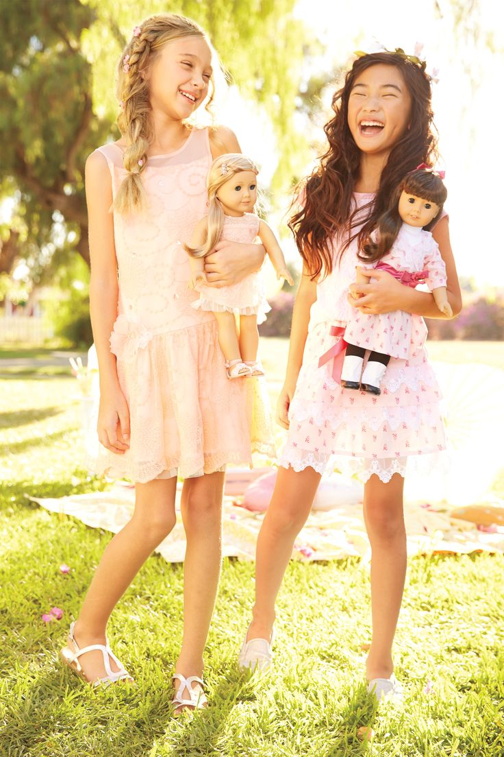 NEW! Spring dresses for girls & dolls.