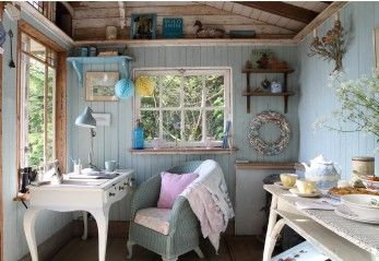 ISLE OF WIGHT: Luxury Self-Catering from www.uniquehomesstays.com. The Island Hideaway in Shanklin has a summerhouse that is truly the epitome of the world charming.