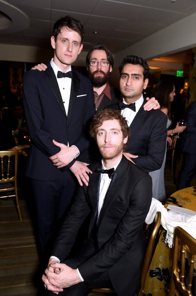 Cast of SiliconValley. All Dorky, Nerdy,Sexy & shit!