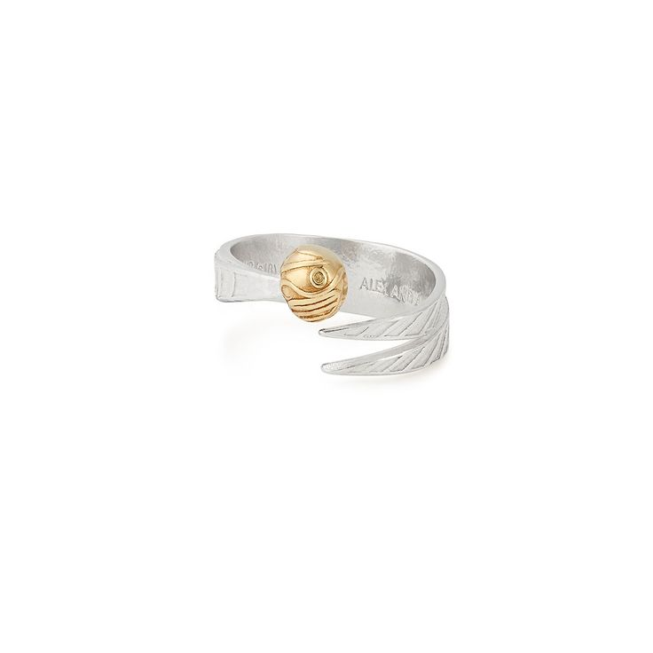 Alex and Ani x Harry Potter Golden Snitch Wrap Ring