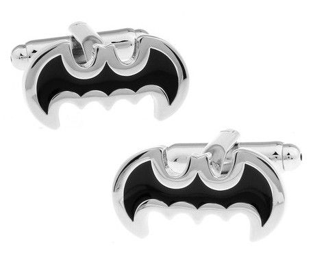 Gemelos para camisa Batman Negro 01