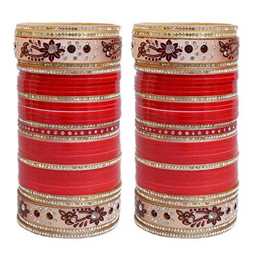 VVS Jewellers White & Red Stone Bollywood Designer Chura ... https://www.amazon.com/dp/B072PQ2V3P/ref=cm_sw_r_pi_dp_x_my6jzbEQ9TYWZ