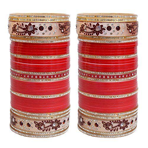 VVS Jewellers White & Red Stone Bollywood Designer Chura ... https://www.amazon.com/dp/B072PQ2V3P/ref=cm_sw_r_pi_dp_x_0N9lzbSZGCTEG