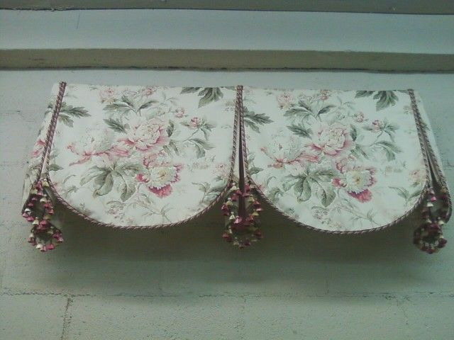 how to make beautiful valences for curtains