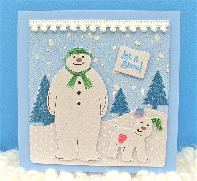 Snowman and Snowdog Happy Christmas | docrafts.com