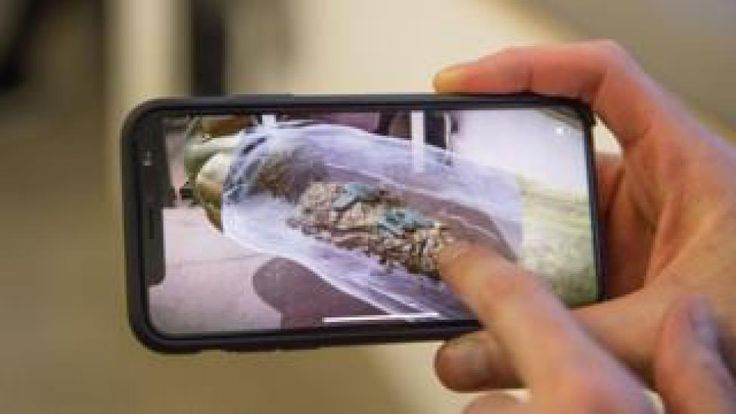 BBC launches augmented reality app for Civilisations  Image caption  BBC has launched an augmented reality app that lets people explore historical artefacts virtually    The BBC is launching an augmented reality app that will enable people to explore historical artefacts from UK museums in virtual exhibitions.  It is a companion to BBC Twos Civilisations series which will be broadcast in spring 2018.  Users will be able to view and explore artefacts virtually  for example looking at a mummy…