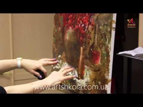 Мастер класс живописи Елены Ильичевой - О Возрождении - YouTube