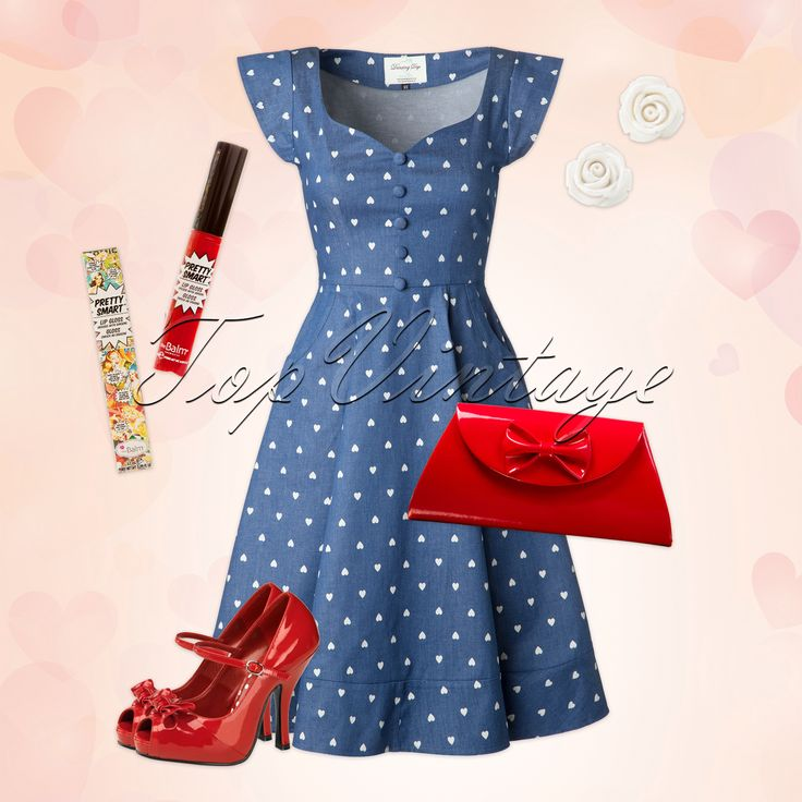 This lovely look is just love at first sight!