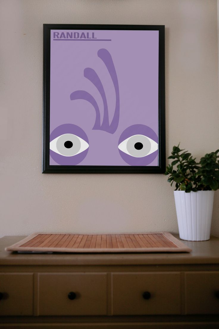 Monsteru0027s Inc. / Randall / Poster By UrbanDinosaur On Etsy, $18.00