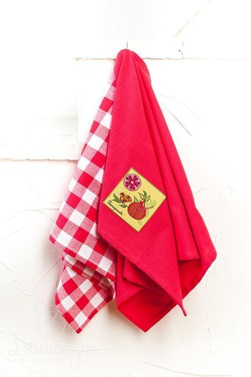 Набор полотенец ГРАНАТ 45х70 (2шт) от Arloni (Индия) - купить по низкой цене в интернет магазине Домильфо