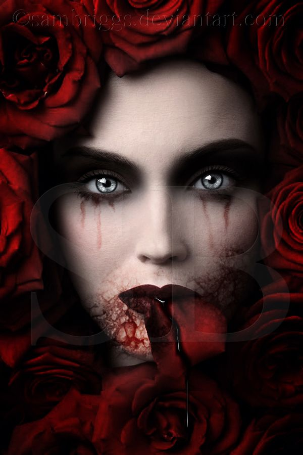 Dark Roses Blood  (That's the cover I've been looking fot -- how do I contact this artist??)
