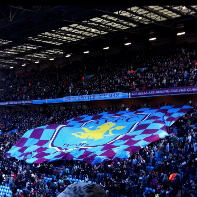After being an Aston Villa fan since 1998, I finally attended a match at Villa Park in 2010. Singing and swearing in the Holte End stand at Villa Park was crossed off the bucket list!
