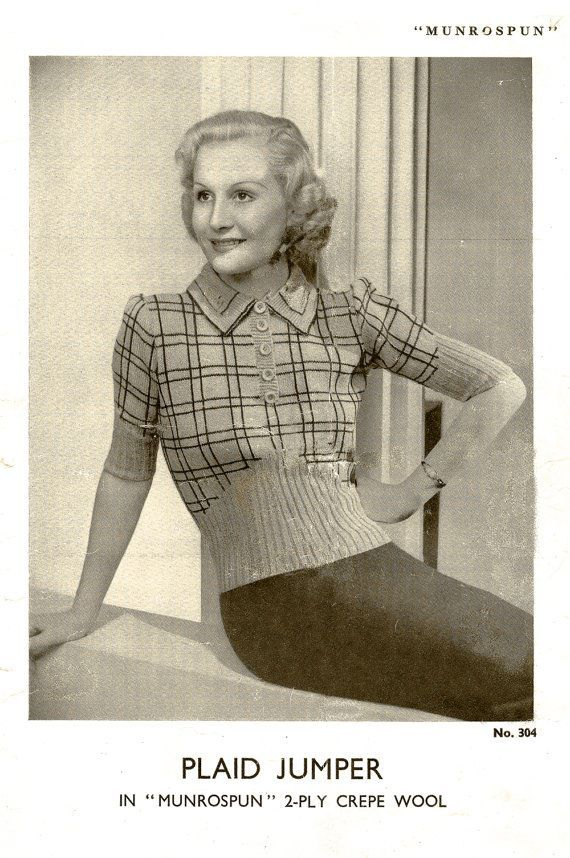 409 Best Vintage Knitting And Crochet Images On Pinterest Knit