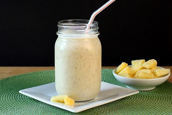 Pineapple Coconut Milk Smoothie