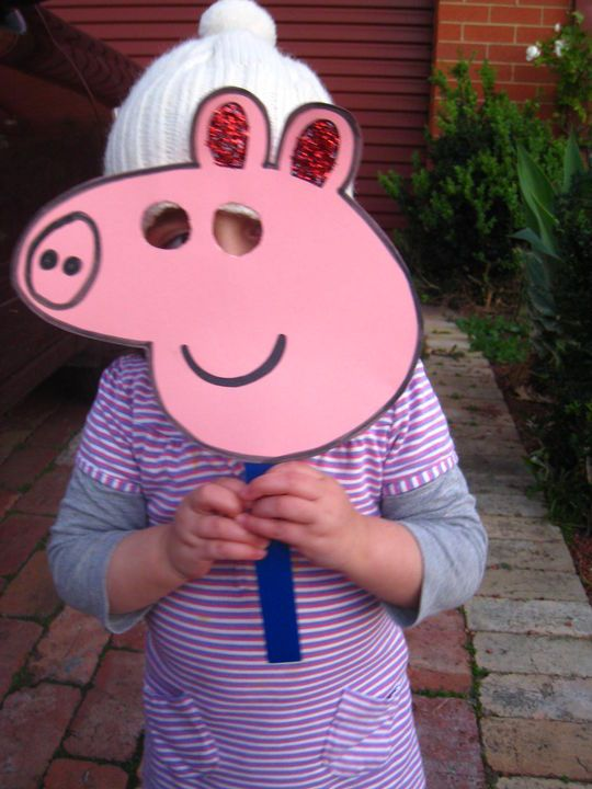 "For Ry.. I miss him saying ""Ello I'm Peppa Pig"" in that British accent :)"