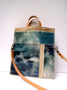 made using vintage oil paintings sourced from markets in Holland and Belgium.
