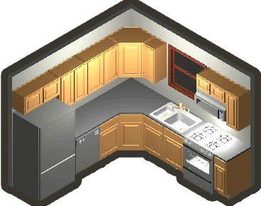 Best 25+ Small kitchen layouts ideas on Pinterest | Kitchen layouts, Small  kitchen with island and Small kitchen designs
