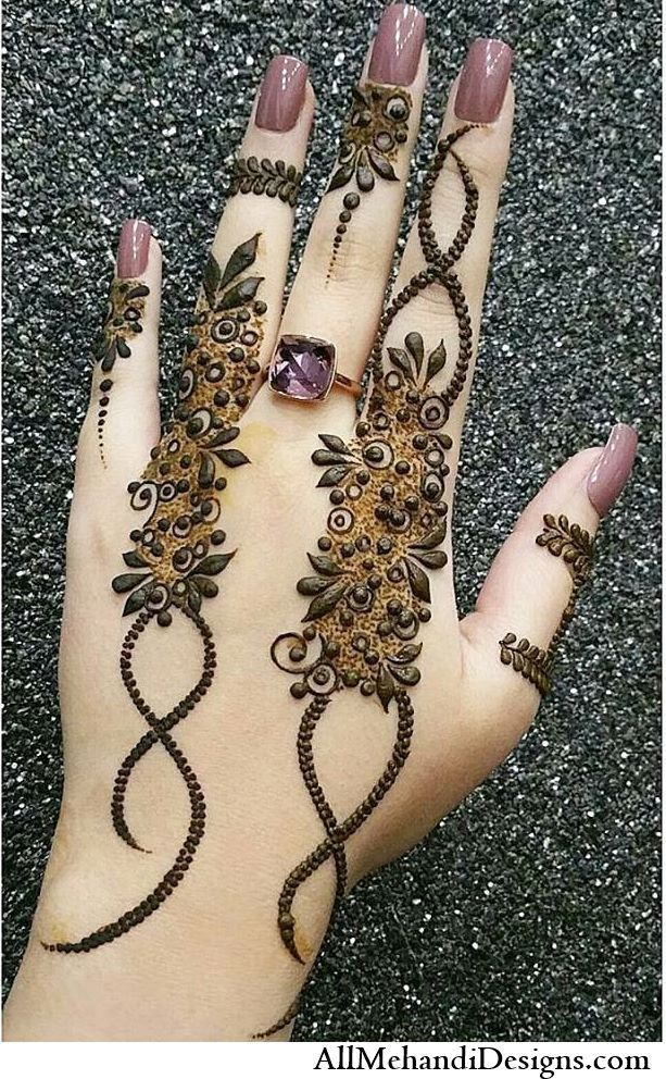 simple and easy arabic mehndi designs for eid