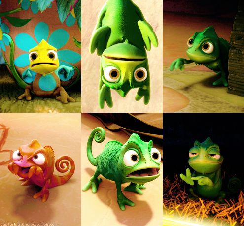 I want a chameleon... not just any chameleon, it has to be a frikkin awesome chameleon like Pascal!! :) #Tangled @Abbi Whitman