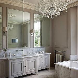 Taupe Bathroom, Transitional, bathroom, 1st Option
