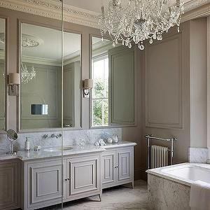 Taupe Bathroom, Transitional, bathroom, 1st Option