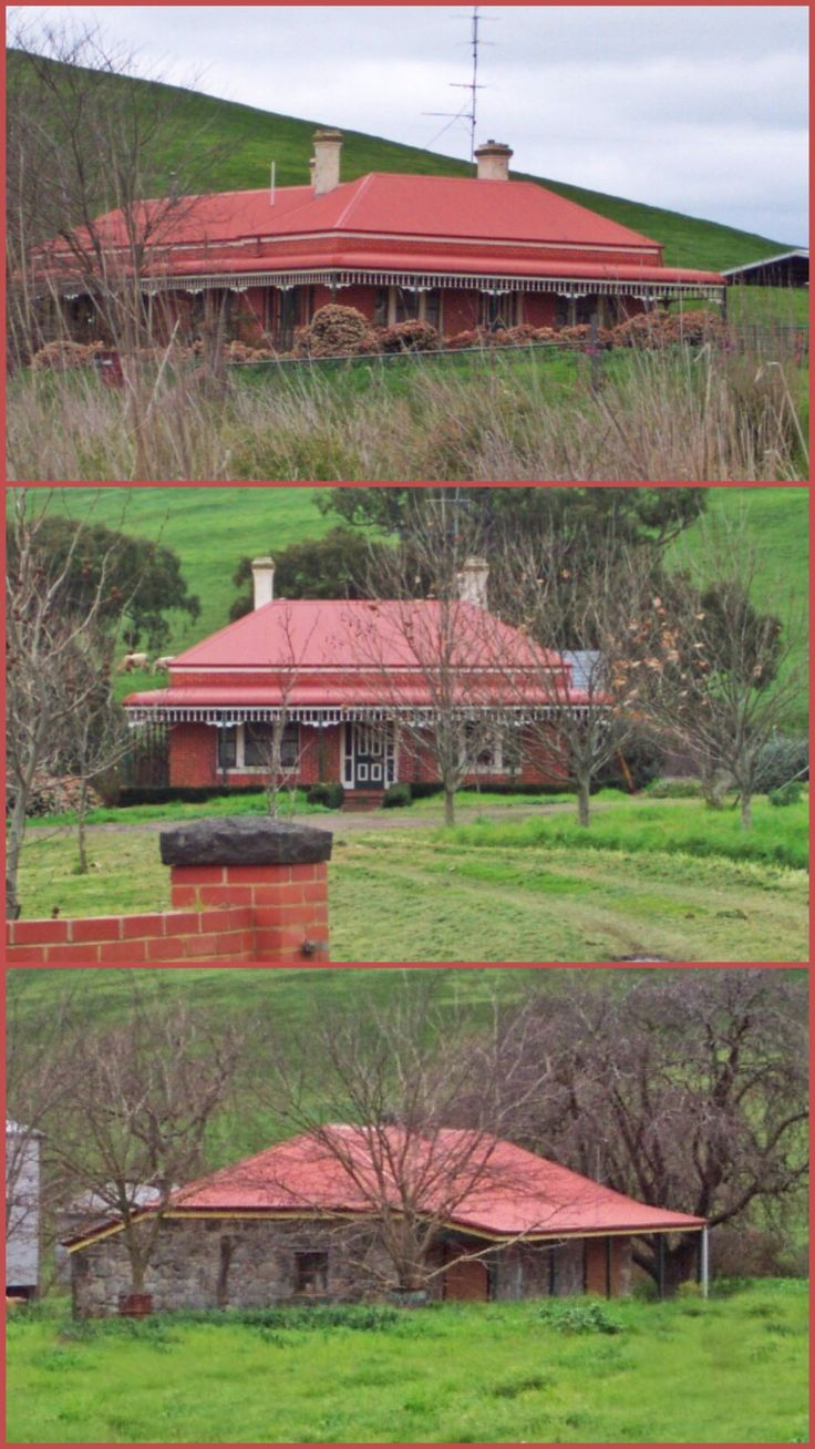 Morgiana Homestead, Wannon (321km W of Melbourne). The run was taken up in 1842 by Alexander Cameron who passed it on to his nephew Donald. The large and influential Cameron family were Overlanders from Sydney, unlike most squatters in the area who were Overstraiters. Their original small stone homestead, which still survives, probably dates from before 1850. A second timber homestead (demolished) was replaced in c1900 by the present house, originally weatherboard and now brick veneer.
