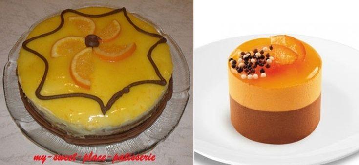 Ζαχαροπλαστική Πanos: Γλάσο πορτοκαλιού