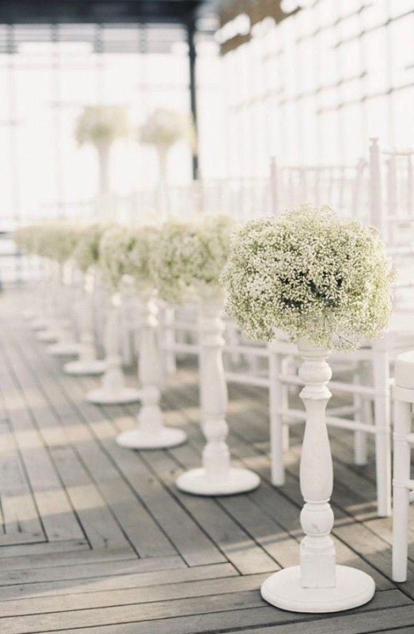 Gipsówka na ślubie