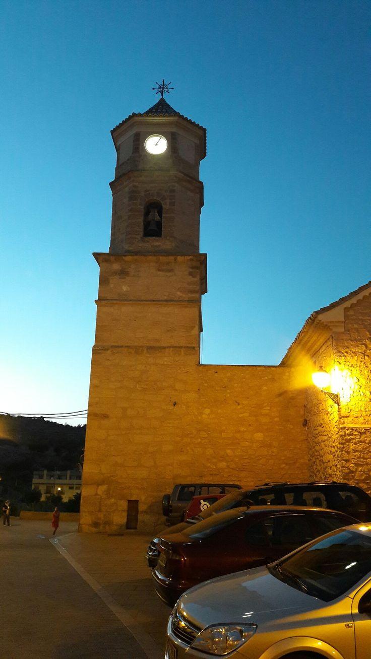 Casas Altas - Campanario Iglesia
