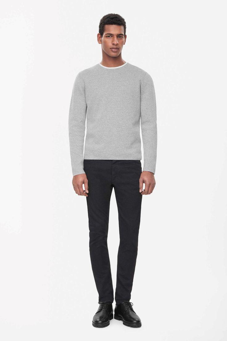Cotton milano-knit jumper £69  Size M