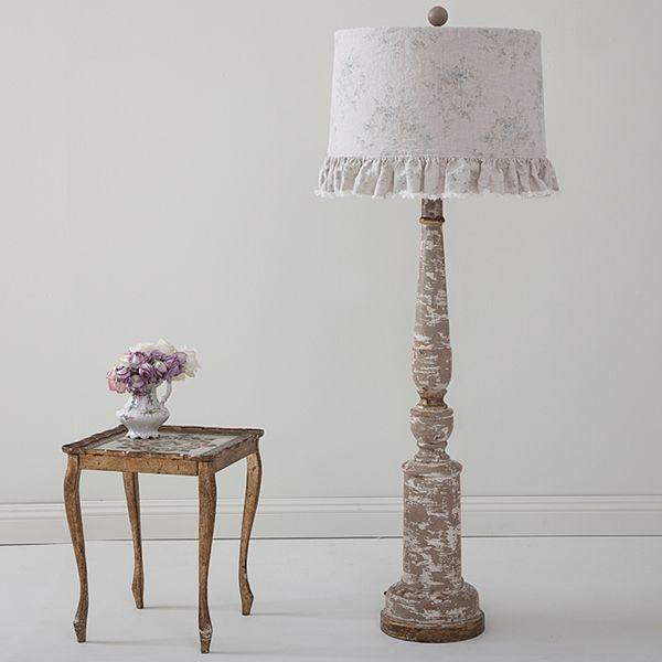 shabby chic lighting fixtures. rachel ashwell shabby chic couture balustrade floor lamp lighting fixtures