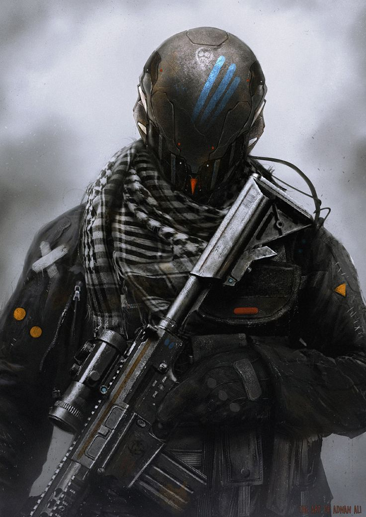 Deadshot by Adnan Ali | Sci-Fi | 2D | CGSociety