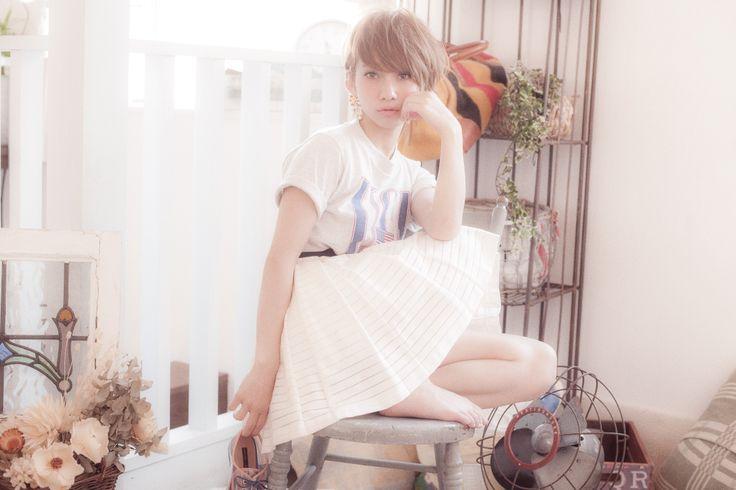 野口由香[ELLEestBELLE] #hair  #girl  #japan #arrange #hairstyle #tokyo #ELLEestBELLE #Belle