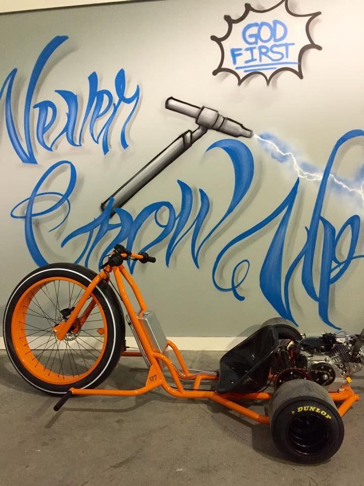 Drift Trike SFD Industries www.sfdindustries.com