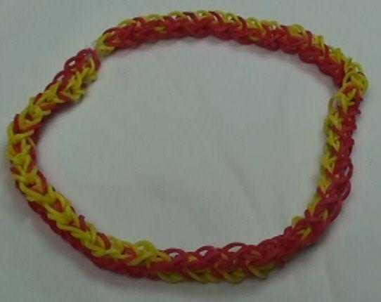 rainbow loom diamond rubber band choker rainbow loom