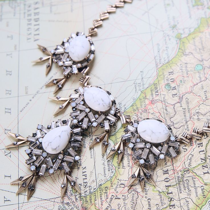 Shop the Aventine Convertible Statement Necklace, now available on my boutique!
