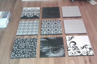 great inexpensive custom wall artDiy Ideas, Crafts Ideas, Diy Artworks, Bedrooms Wall Art Diy, Wall Canvas, Custom Wall, Art Ideas, Scrapbook Paper, Diy Wall Art