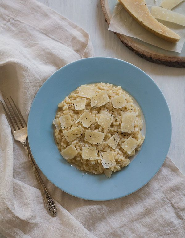 In honor of the late Marcella Hazan, PBS pays tribute to the Italian cookbook author with her parmesan risotto recipe.