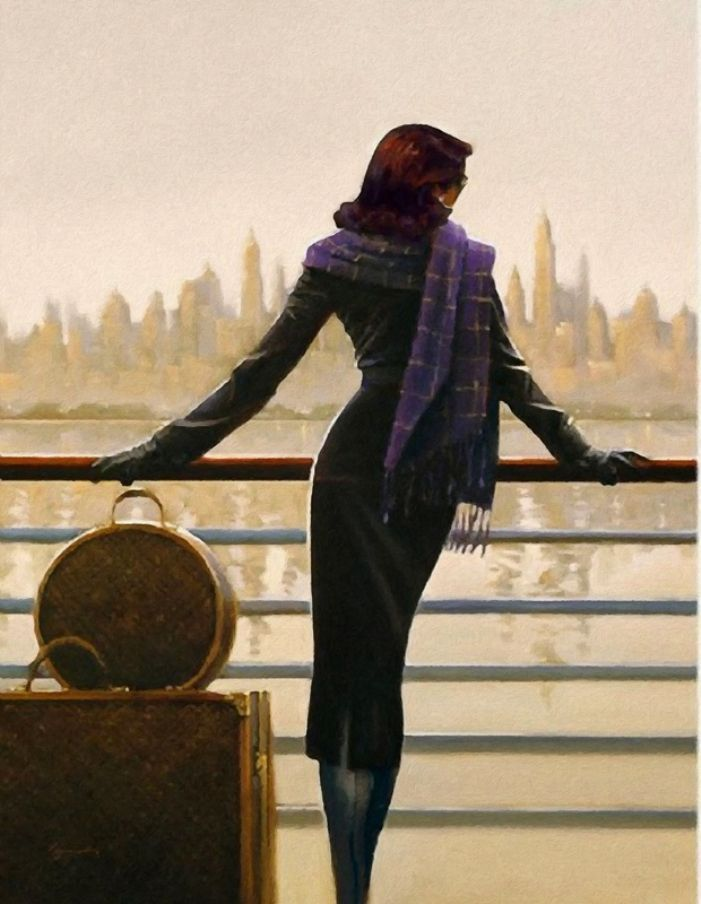 Leaving the city- Jack Vettriano