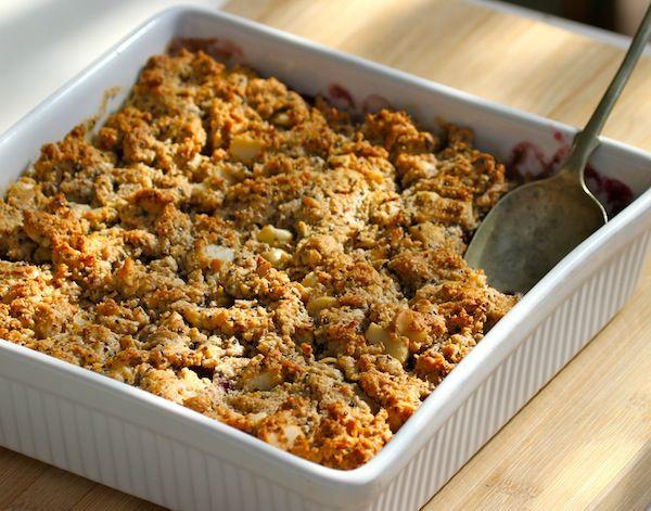Apple&BerryCrumble organic sis dish