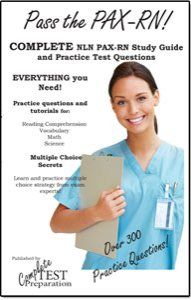NLN PAX Exam Nursing Entrance Test #pre #nln #exam http://louisville.remmont.com/nln-pax-exam-nursing-entrance-test-pre-nln-exam/  # Taking the NLN PAX Exam? We can Help! Everything you Need! Free online practice questions, exam registration information, Test FAQs, Test Preparation Tips and Strategies, Multiple Choice Tips and Strategy, Test Taking Tips, plus study guides and practice tests in every format – PDF download, Kindle, ebook and iBooks. The Registered Nursing Program (NLN PAX-RN)…