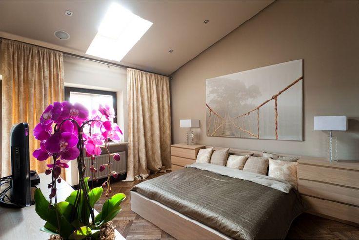 Обустройство цветников в спальне