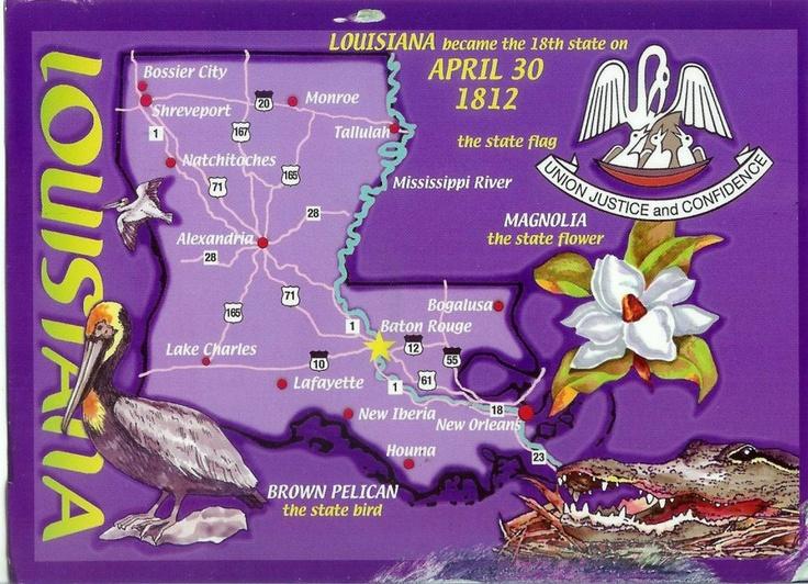 Best Louisiana Parish Map Ideas On Pinterest Map Of - Loiusiana map