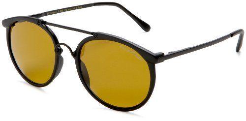 Eagle Eyes Classic Sunglasses,Matte Black Frame/Gold Brown Lens,one size Eagle Eyes. $40.00
