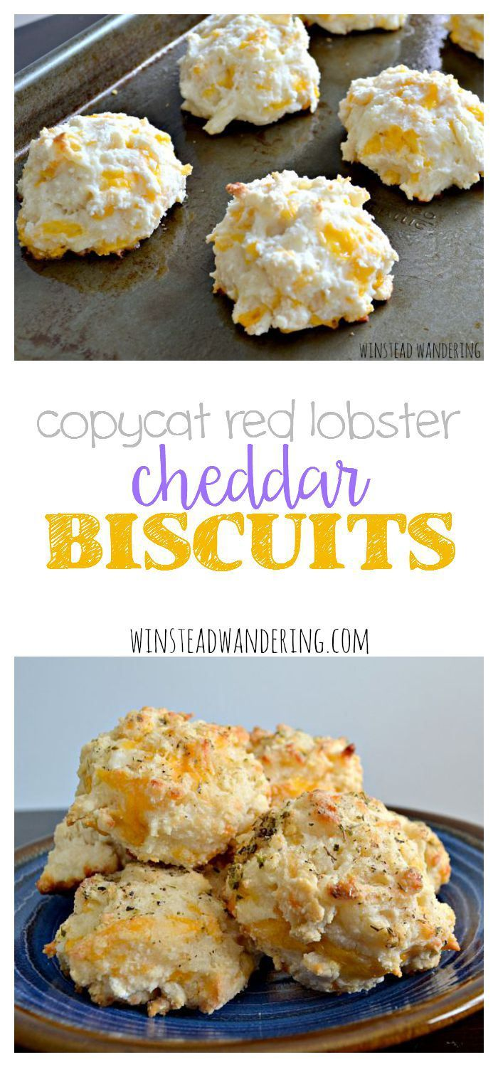 Copycat red lobster cheddar biscuits are loaded with cheese and brushed generously with butter and garlic. They might be called copycat, but honestly, they're way better.