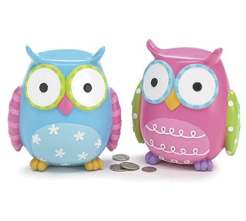 Whimsical Owl Piggy Banks Paint Your Own Pottery Ideas