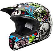 FOX - 2012 V2 Pure Filth Off-Road Motorcycle Helmet - Dirt Bike - Motocross Helmets - Off-Road - Outlet - CycleGear - Cycle Gear