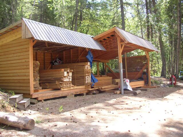 100 best sawmills images on pinterest woodworking for Equipment shed